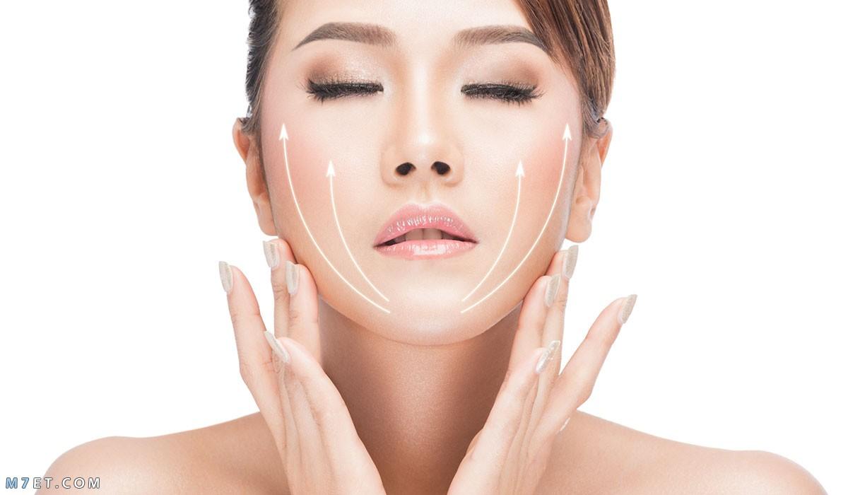 ازالة الدهون من الوجه