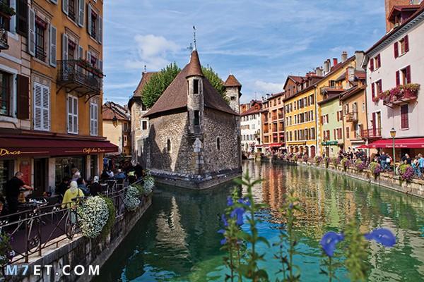 السياحة في مدينة انسي الفرنسية