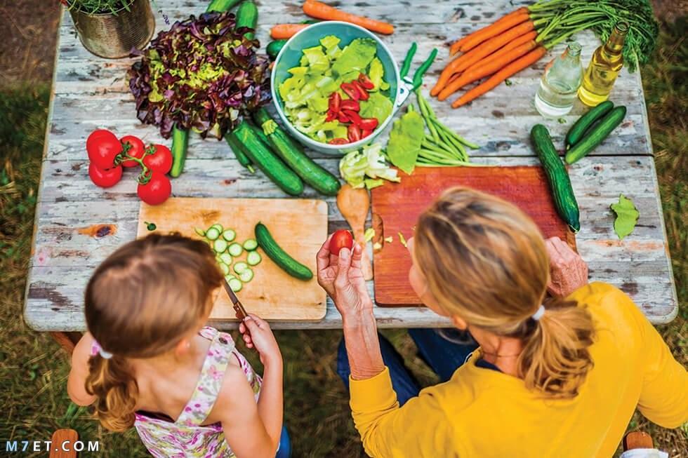 تجهيز الطعام للأبناء2021