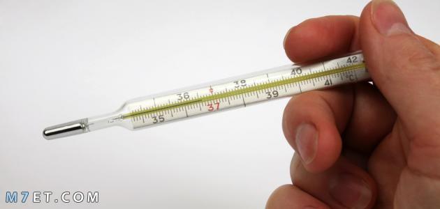 ارتفاع درجة الحرارة عند الكبار
