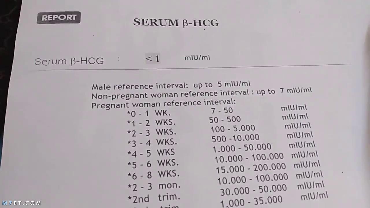 أهمية وسعر تحليل الحمل بالدم وطريقه قراءته بالتفصيل