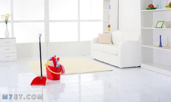 كيف انظف البيت بسرعة