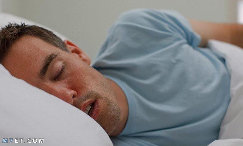 اسباب اللعاب اثناء النوم