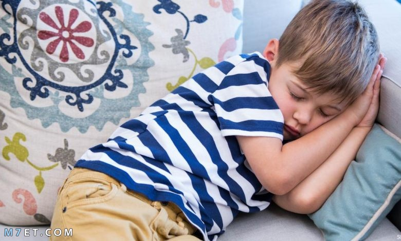 اسباب كثرة النوم عند الاطفال