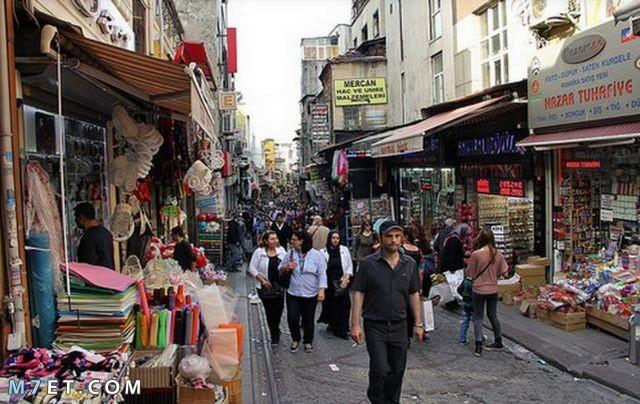 أفضل سوق في إسطنبول