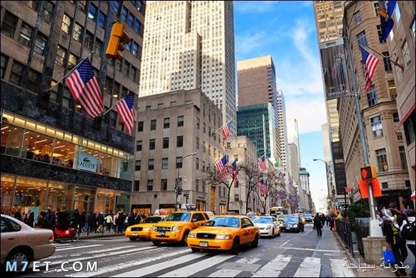 أفضل الاماكن في نيويورك.