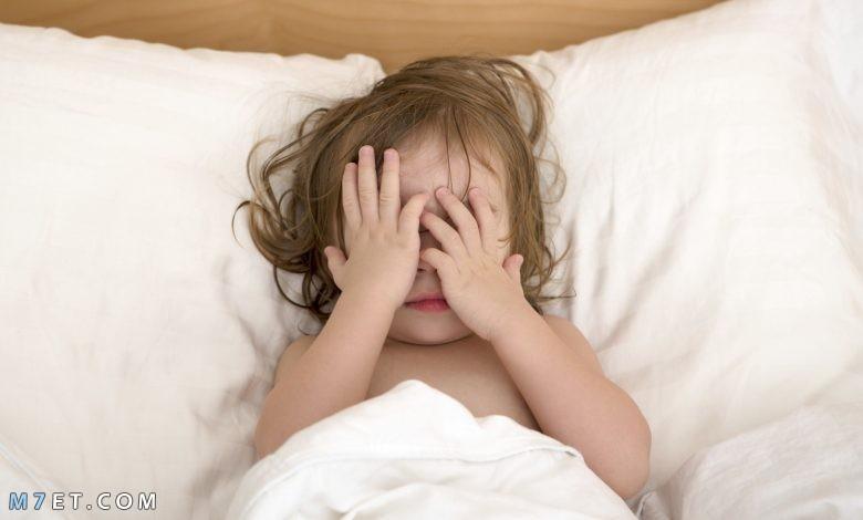 مشكلات واضطرابات النوم عند الطفل 2021