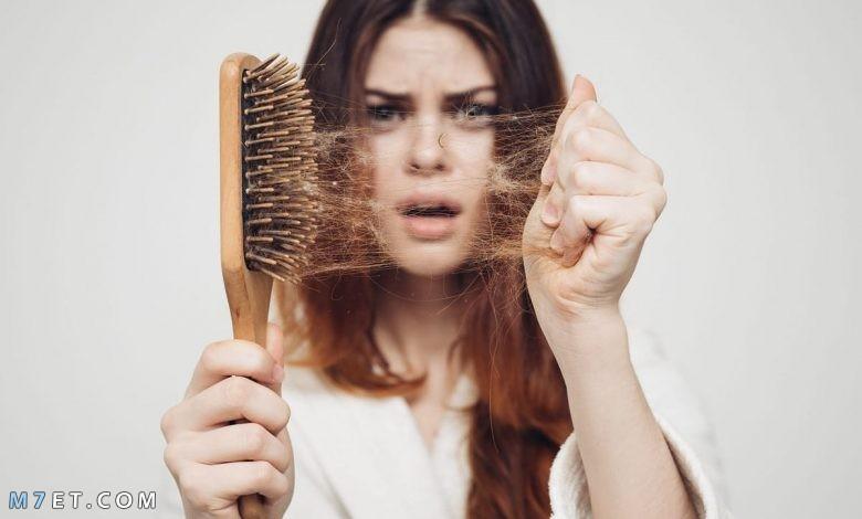 أسباب تساقط الشعر عند البنات