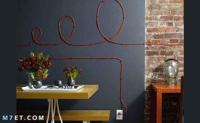 أفكار لتزيين الحائط ليبدو كقصص الخيال