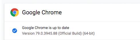احدث اصدار من جوجل كروم