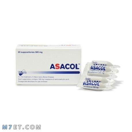 التفاعلات الدوائية مع Asacol