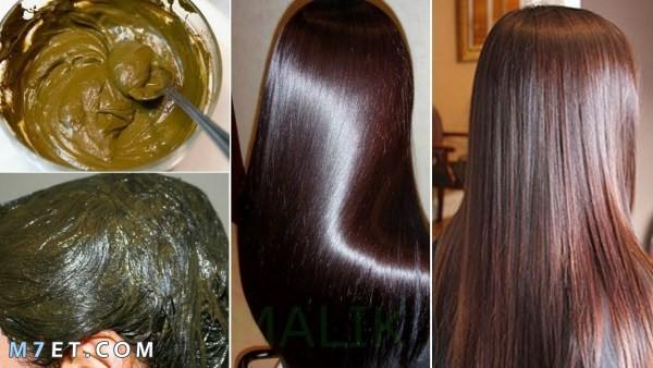 صبغ الشعر بعد الحناء