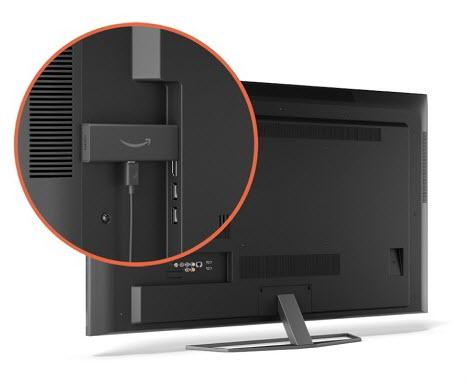 انعكاس الشاشة باستخدام عصا Fire TV