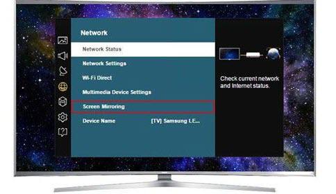 انعكاس الشاشة بدون internet TV box