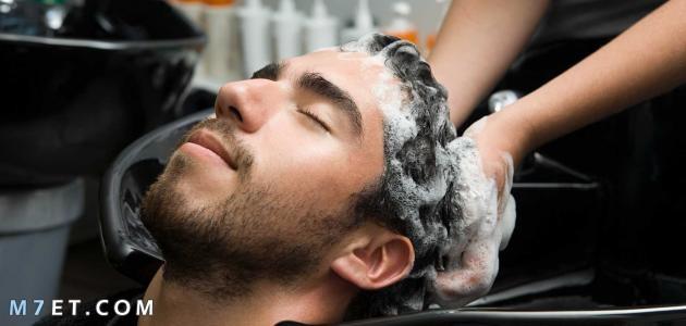 كيفية فرد الشعر للرجال