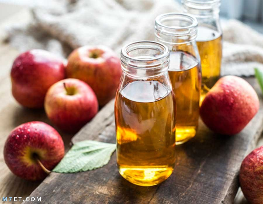 اضرار خل التفاح للوجه
