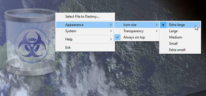 طريقة حذف الملفات