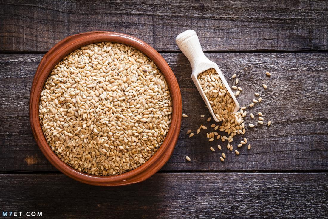 فوائد بذرة الكتان للبشرة