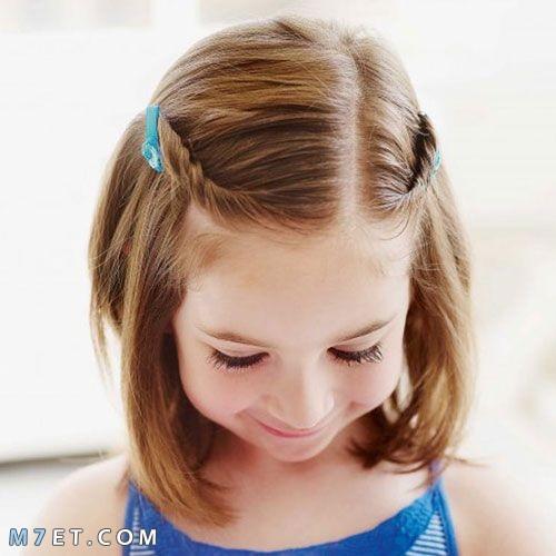 بنتي شعرها خفيف
