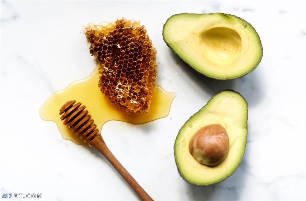 ماسك الافوكادو العسل