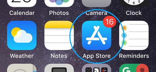 متجر تطبيقات ايفون