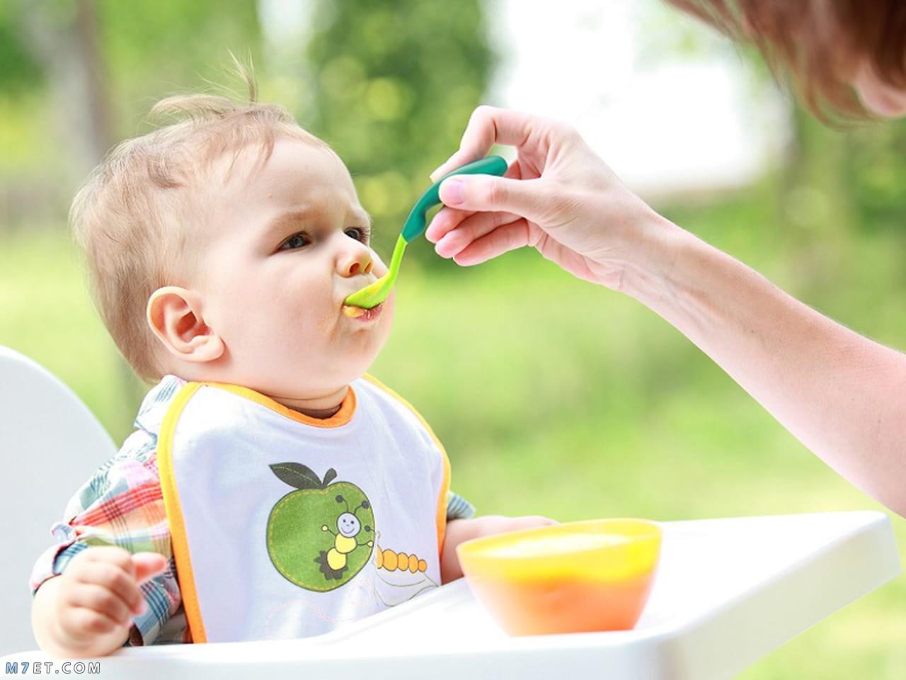تغذية الطفل في الشهر الخامس