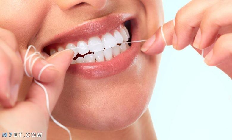 كيفية استخدام خيط الأسنان