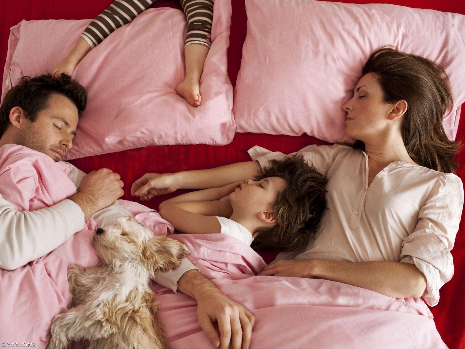 الطريقة الصحيحة للنوم