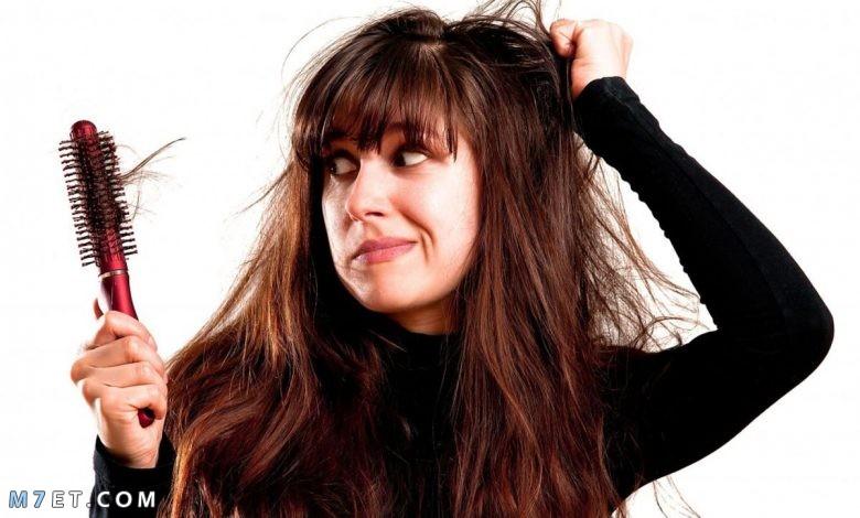 اسباب تساقط الشعر من الجذور