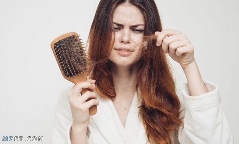 أسباب تساقط الشعر عند النساء