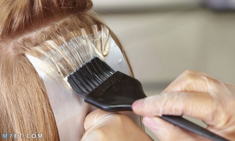 اضرار صبغ الشعر
