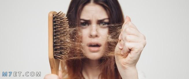 معالجة الشعر المتساقط