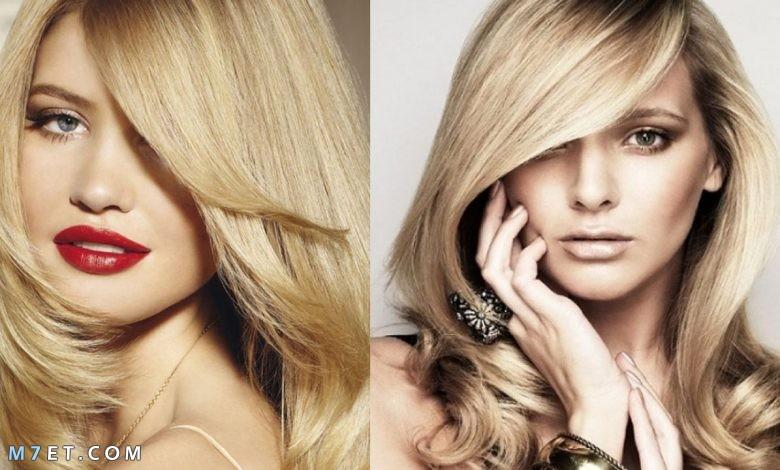 كيفية صبغ الشعر باللون الاشقر