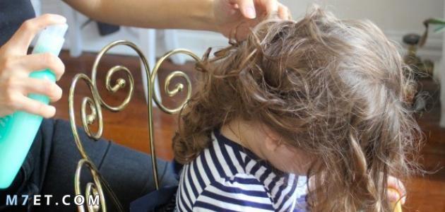 كيفية التخلص من عقد الشعر