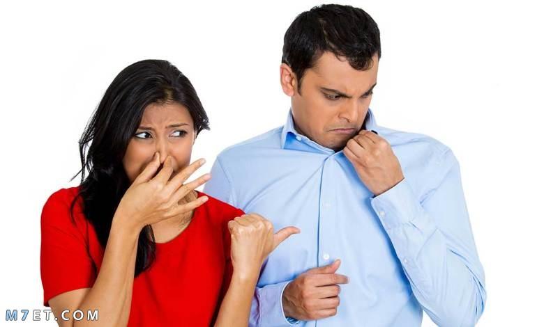 التخلص من رائحة الجسم الكريهة