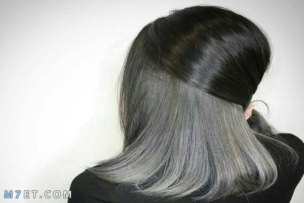 كيف أصبغ شعري رمادي