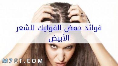 Photo of فوائد حمض الفوليك للشعر الأبيض