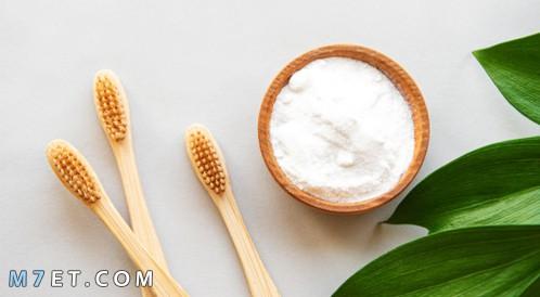 بيكربونات الصوديوم لتبييض الاسنان
