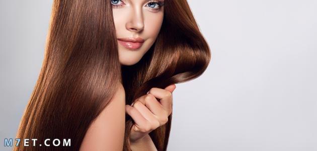 طريقة صبغ الشعر بني فاتح