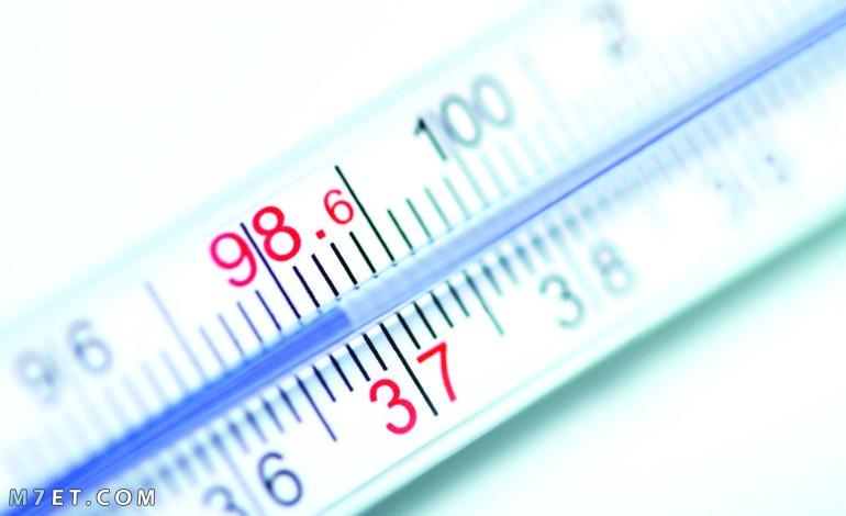 درجة حرارة الجسم الطبيعية