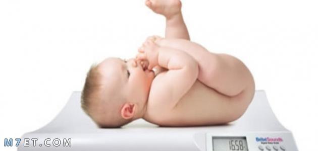 كيف أزيد وزن الرضيع