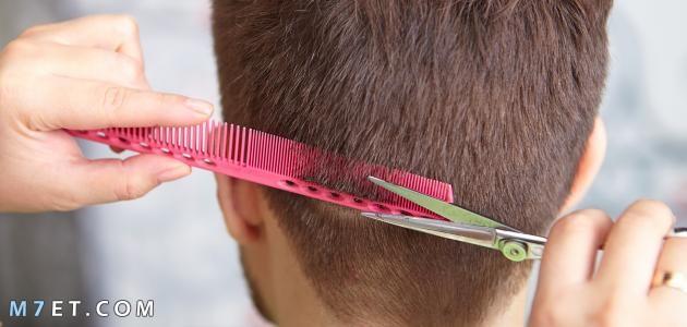 تصفيف الشعر للرجال