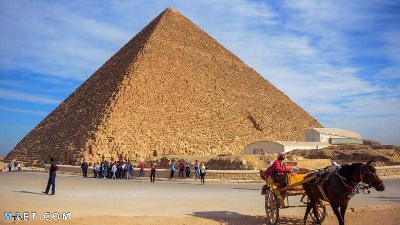 أين تقع الاهرامات في مصر