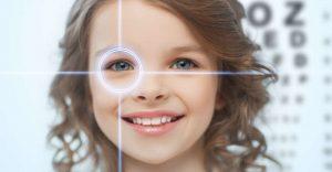 اختلاف قوة النظر بين العينين