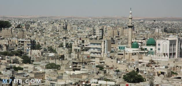 اكبر مدينة في سوريا