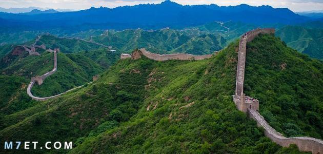 اين يوجد سور الصين العظيم