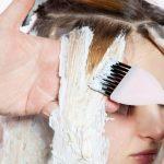 طريقة سحب لون الشعر بالميش في البيت