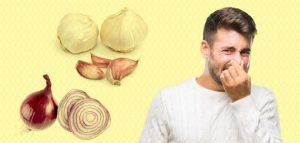 كيف أزيل رائحة البصل من الفم