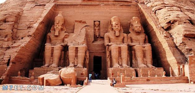 اين يوجد معبد ابو سمبل