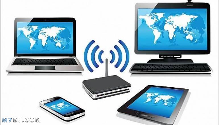 خصائص الشبكة اللاسلكية